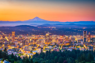 Photo of Portland, Oregon, Skyline